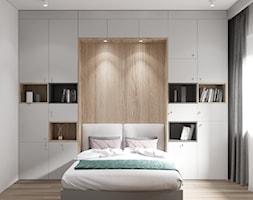 Apartament w Warszawie - Biuro, styl minimalistyczny - zdjęcie od OSOM.