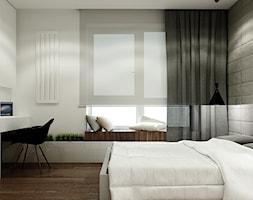 WORONICZA - Średnia sypialnia małżeńska, styl nowoczesny - zdjęcie od KAEEL.GROUP | ARCHITEKCI