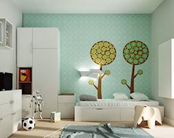 STRZESZEWSKIEGO - Średni pokój dziecka dla chłopca dla malucha, styl skandynawski - zdjęcie od KAEEL.GROUP | ARCHITEKCI