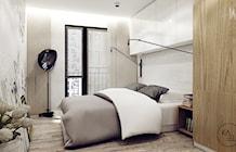 Sypialnia styl Industrialny - zdjęcie od KAEEL.GROUP | ARCHITEKCI