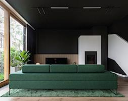 OSTRÓDZKA - Salon, styl minimalistyczny - zdjęcie od KAEL Architekci - Homebook