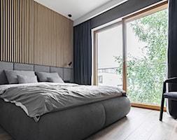 OSTRÓDZKA - Sypialnia, styl minimalistyczny - zdjęcie od KAEL Architekci - Homebook