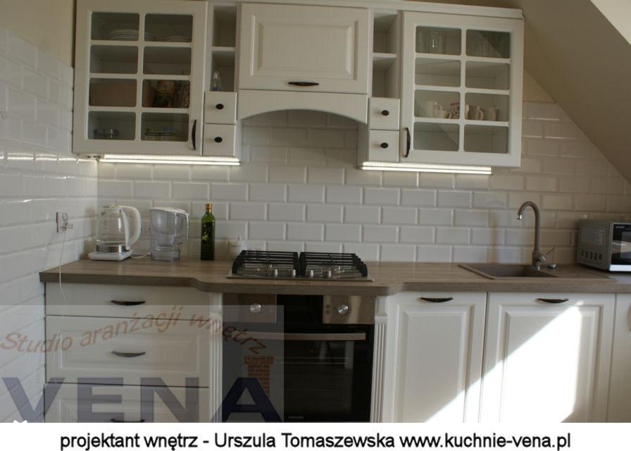 Meble kuchenne Lublin  Vena  zdjęcie od Aranżacje wnętrz Lublin  Warszawa   -> Kuchnia Meble Lubin