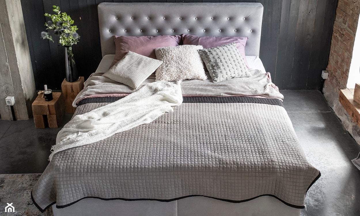 Łóżko tapicerowane dwuosobowe Eltap