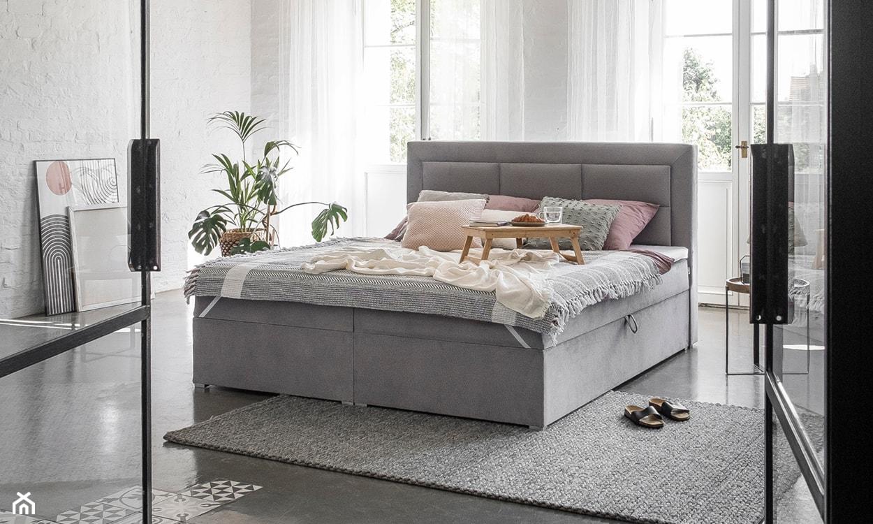Łóżko tapicerowane Eltap