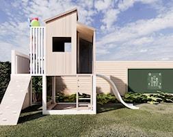 Słoneczny ogród inspirowany stylem Boho - Ogród - zdjęcie od Kinga Madej architekt krajobrazu - Homebook