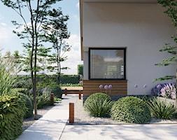 Ogród wypoczynkowy - zdjęcie od Kinga Madej architekt krajobrazu - Homebook