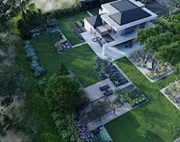 OGRÓD NOWOCZESNY Z ŁĄKĄ KWIETNĄ - zdjęcie od Kinga Madej architekt krajobrazu - Homebook