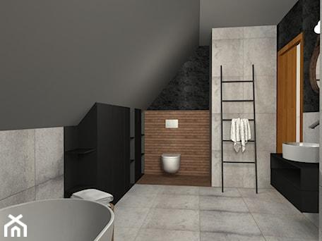Aranżacje wnętrz - Łazienka: Łazienka na poddaszu - Niuans projektowanie wnętrz. Przeglądaj, dodawaj i zapisuj najlepsze zdjęcia, pomysły i inspiracje designerskie. W bazie mamy już prawie milion fotografii!