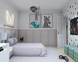 Projekt domu okolice Myszkowa - Pokój dziecka, styl nowoczesny - zdjęcie od AUMÜLLERDESIGN Studio projektowania wnętrz - Homebook