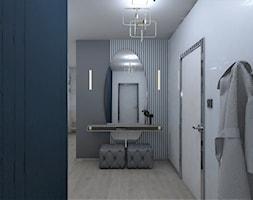 Bielany Wrocławskie - Hol / przedpokój, styl nowoczesny - zdjęcie od AUMÜLLERDESIGN Studio projektowania wnętrz - Homebook