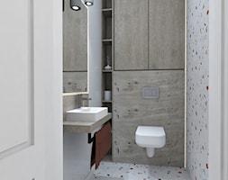 Toaleta - zdjęcie od AUMÜLLERDESIGN Studio projektowania wnętrz - Homebook