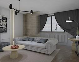 Piętro domu z okolic Krakowa - Salon, styl glamour - zdjęcie od AUMÜLLERDESIGN Studio projektowania wnętrz - Homebook