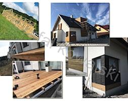 tarasy, pergole, drewniane konstrukcje domów - zdjęcie od rkowalski - Homebook
