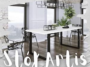 Stół Artis - industrialny stół w 3 kolorach!
