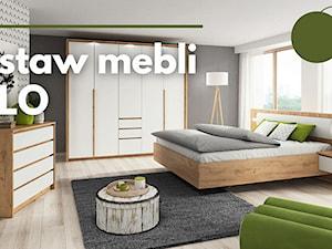 Meble do salonu Eklo - wprowadź do swojego wnętrza skandynawski klimat