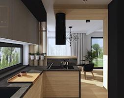 Nowoczesna+kuchnia+z+du%C5%BCym+w%C4%85skim+oknem+-+zdj%C4%99cie+od+Qualita+Interno