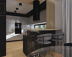Nowoczesna+kuchnia+z+w%C4%85skim+oknem+-+zdj%C4%99cie+od+Qualita+Interno