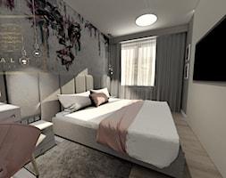 Szeroka+sypialnia+z+nowoczesn%C4%85+tapet%C4%85+-+zdj%C4%99cie+od+Qualita+Interno
