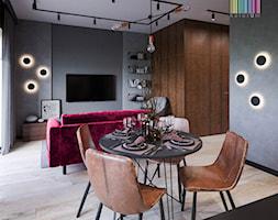 Industrialne wnętrze - Salon, styl industrialny - zdjęcie od KOLORUM - Homebook