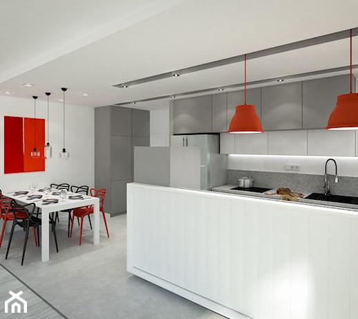 Słoneczne Bielany  Kuchnia, styl minimalistyczny  zdjęcie od KOLORUM