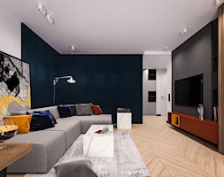 Projekt kolor - Salon, styl nowoczesny - zdjęcie od KOLORUM - Homebook