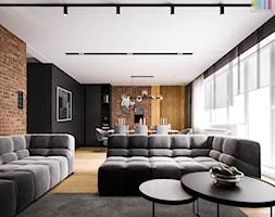 Trochę w klimacie loft - Salon, styl nowoczesny - zdjęcie od KOLORUM - Homebook
