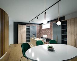 Biura w Malborku - Wnętrza publiczne, styl industrialny - zdjęcie od KOLORUM - Homebook