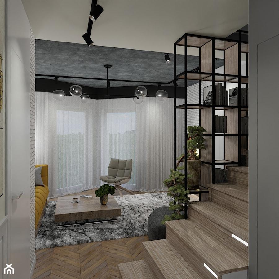 Dom w Wieliczce - Salon, styl nowoczesny - zdjęcie od Monsun Studio