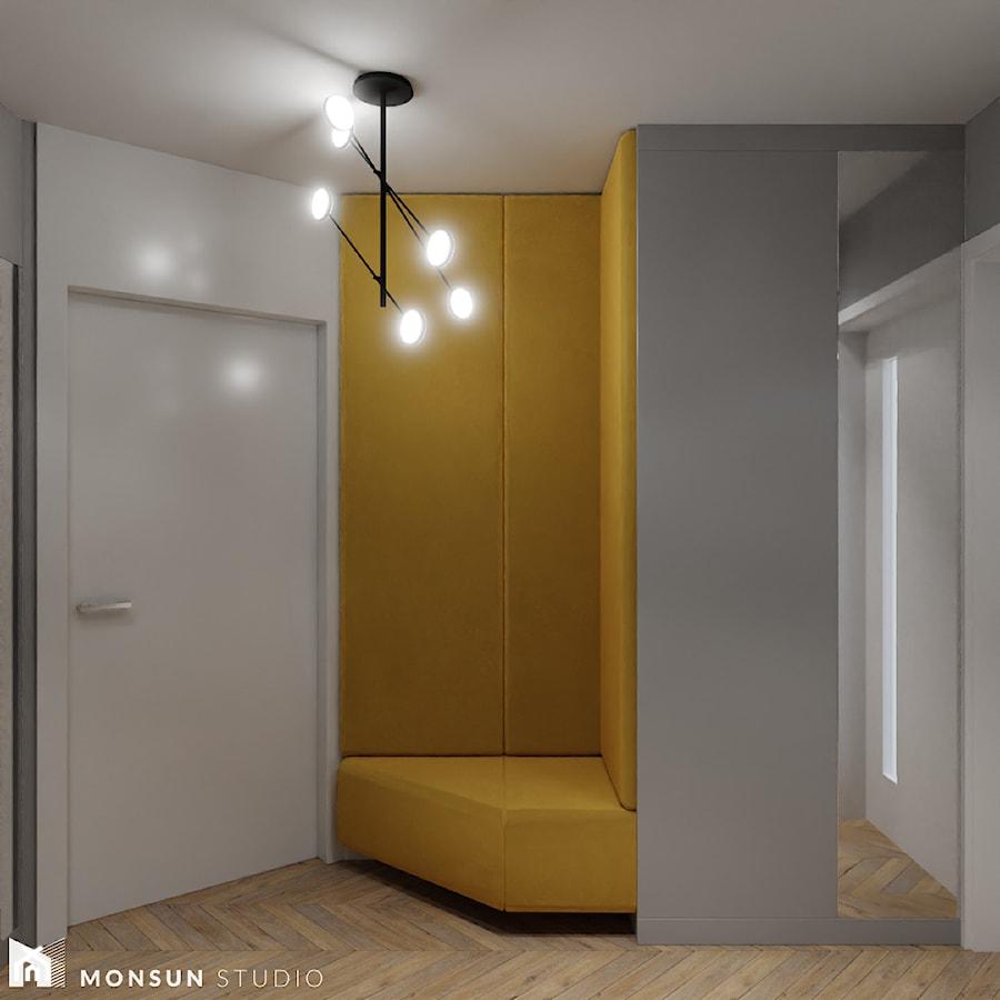Dom w Wieliczce - Hol / przedpokój, styl klasyczny - zdjęcie od Monsun Studio