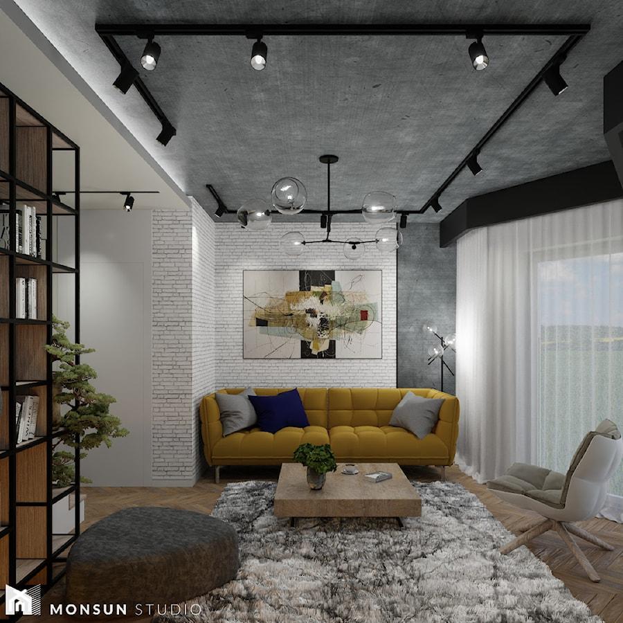 Dom w Wieliczce - Salon, styl klasyczny - zdjęcie od Monsun Studio