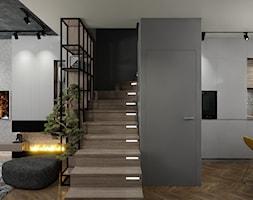 Dom w Wieliczce - Hol / przedpokój, styl nowoczesny - zdjęcie od Monsun Studio - Homebook