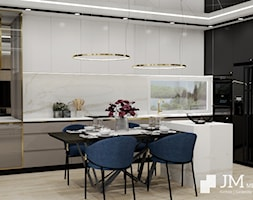 JM Mebel System ⋅ WNĘTRZE GLAMOUR DOMU ⋅ - Kuchnia, styl glamour - zdjęcie od JM MEBEL System - Homebook