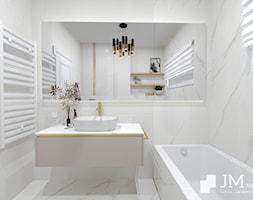 JM Mebel System ⋅ WNĘTRZE GLAMOUR DOMU ⋅ - Łazienka, styl rustykalny - zdjęcie od JM MEBEL System - Homebook