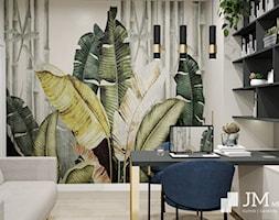 JM Mebel System ⋅ WNĘTRZE GLAMOUR DOMU ⋅ - Biuro, styl glamour - zdjęcie od JM MEBEL System - Homebook