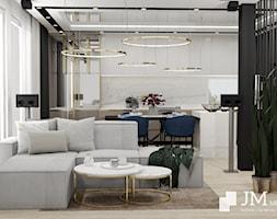 JM Mebel System ⋅ WNĘTRZE GLAMOUR DOMU ⋅ - Salon, styl glamour - zdjęcie od JM MEBEL System - Homebook