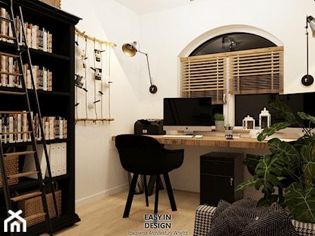 Aranżacje wnętrz - Biuro: Farm House - Biuro, styl rustykalny - EASY IN DESIGN. Przeglądaj, dodawaj i zapisuj najlepsze zdjęcia, pomysły i inspiracje designerskie. W bazie mamy już prawie milion fotografii!