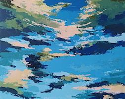 Karuzela+w+parku+-+zdj%C4%99cie+od+Lustkunst+Aleksandra+Kwapiszewska