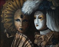 Maski weneckie - zdjęcie od Lustkunst Aleksandra Kwapiszewska - Homebook