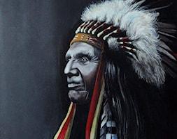 Indianin - zdjęcie od Lustkunst Aleksandra Kwapiszewska - Homebook