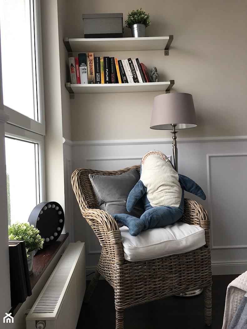 Angielska Elegancja - Styl Hampton - Sypialnia, styl rustykalny - zdjęcie od DISENO INTERIORS - Apartamenty PREMIUM - Homebook