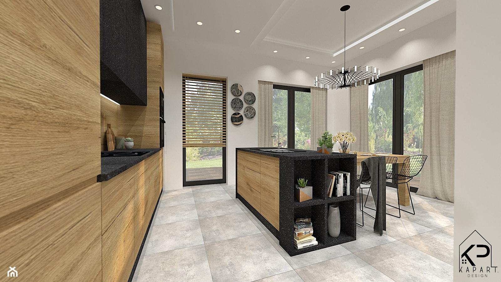 KRAKÓW, dom jednorodzinny _ 155,8m2 - Kuchnia, styl tradycyjny - zdjęcie od KAPART Studio - Homebook