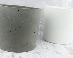 """Doniczka z betonu architektonicznego """"ellie"""" - zdjęcie od Rausch Beton - Homebook"""