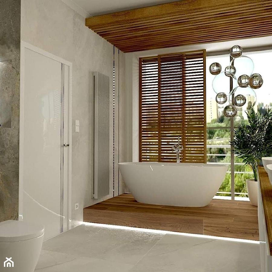 Salon kąpielowy - zdjęcie od Pracownia Projektowa WnętrzaBBM