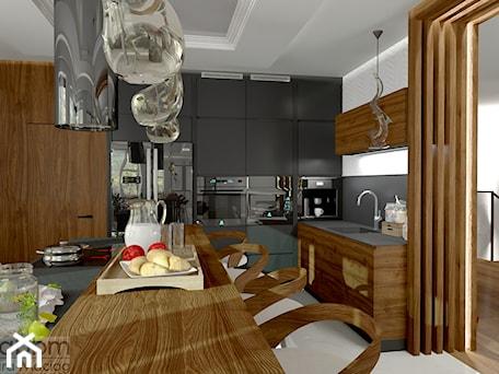 Aranżacje wnętrz - Kuchnia: przestronna kuchnia z bufetem - Pracownia Projektowa WnętrzaBBM . Przeglądaj, dodawaj i zapisuj najlepsze zdjęcia, pomysły i inspiracje designerskie. W bazie mamy już prawie milion fotografii!
