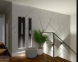 klatka schodowa wewnetrzna - zdjęcie od Pracownia Projektowa WnętrzaBBM - Homebook