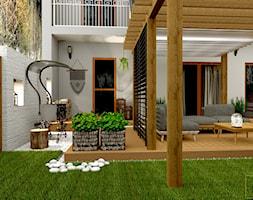 Przydomowe patio - Taras, styl tradycyjny - zdjęcie od Pracownia Projektowa WnętrzaBBM - Homebook