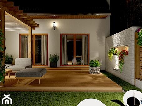 Aranżacje wnętrz - Taras: Przydomowe patio - Taras, styl nowoczesny - Pracownia Projektowa WnętrzaBBM . Przeglądaj, dodawaj i zapisuj najlepsze zdjęcia, pomysły i inspiracje designerskie. W bazie mamy już prawie milion fotografii!