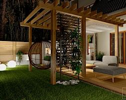 Przydomowe patio - Taras, styl nowoczesny - zdjęcie od Pracownia Projektowa WnętrzaBBM - Homebook