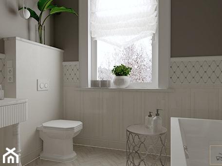 Aranżacje wnętrz - Łazienka: Biała łazienka w angielskim stylu - Łazienka, styl klasyczny - Pracownia Projektowa WnętrzaBBM . Przeglądaj, dodawaj i zapisuj najlepsze zdjęcia, pomysły i inspiracje designerskie. W bazie mamy już prawie milion fotografii!